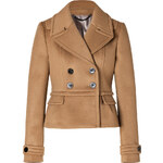 Burberry London Wool-Cashmere Addlesthorp Jacket in Ochre Brown