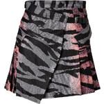 McQ Alexander McQueen Mini Skirt in Pow Tiger