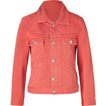 Marc by Marc Jacobs Flamingo Red Cotton Jean Jacket