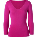Michael Kors Wool Knit-Top in Peony