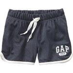 Gap Logo Mesh Shorts - Dark pearl