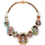 Shourouk Fall Multicolour Necklace