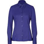 Hugo Stretch Cotton Etrixe Shirt in Dark Purple