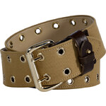 McQ by Alexander McQueen Heavy Military Cotton Eyelet Belt
