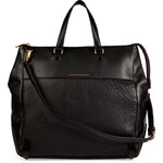 Marc by Marc Jacobs Leather Sheltered Island Tote in Black