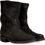 Fiorentini & Baker Suede Boots in Black