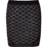 Lala Berlin Lanki Knit-Skirt in Ethno Shiny Black