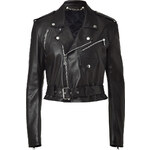 Ralph Lauren Collection Black Leather Jacket