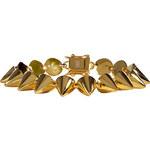 Eddie Borgo Gold Small Cone Bracelet