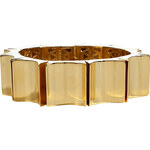 Eddie Borgo Gold Small Wave Bracelet