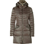 Peuterey Down Wave Coat in Olive