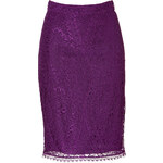 Emilio Pucci Lace Pencil Skirt