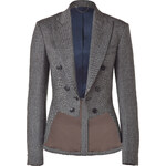 Paul Smith Black/Grey Houndstooth Riding Jacket