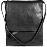Jil Sander Leather Bag in Black