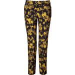 Michael Kors Wool Ikat Pants in Leaf/Chartreuse/Black