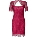 Emilio Pucci Lace Top Dress in Lampone
