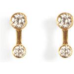 Sophie Bille Brahe Gold/Diamond Minoir Etoile Earrings