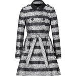 RED Valentino Belted Lace Print Coat