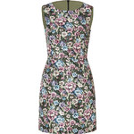 RED Valentino Floral Print Sheath Dress