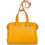 Fendi Sunflower Calf Leather Duffle Bag with Shoulder Strap
