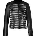 Golden Goose Leather Yorker Jacket in Black