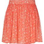 Paul & Joe Sister Coral Silk-Blend Hirondel Mini-Skirt