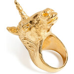 Leivankash Gold-Plated Unicorn Ring