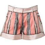 Jonathan Simkhai Powder-Multi Striped Shorts