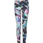 J Brand Jeans Hydrangea Print Powerstretch Jeans