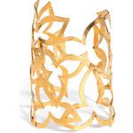 Hervé van der Straeten Hammered Gold-Plated Cuff Bracelet