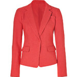 DKNY Passion Fruit Textured Linen-Blend Blazer
