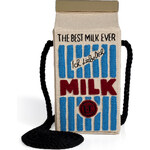 Olympia Le-Tan Handcrafted Milk Bag in Light Blue