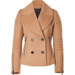 Belstaff Wool-Cashmere Moto Dallington Jacket in Camel