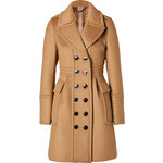 Burberry London Cashmere-Wool Winstan Coat in Ochre Brown