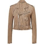 Ralph Lauren Collection Taupe Suede Davidson Jacket