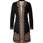 Etro Wool-Cotton Blend Embroidered Coat