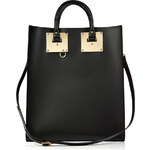 Sophie Hulme Leather Tote in Black