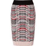 Sonia Rykiel Wool Skirt in Skin/Noir