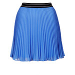 Topshop Sports Waistband Pleat Mini Skirt