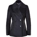 Belstaff Wool-Cashmere Croft Moto Jacket in Midnight