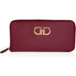 Salvatore Ferragamo Leather Wallet in Purple
