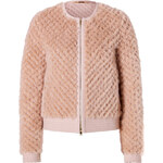 Emilio Pucci Mink/Leather Quilted Jacket