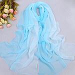 LightInTheBox Women's Elegant Blue Wind Day Sunblock Chiffon Scarf