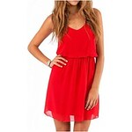 LightInTheBox Women's Chiffon Spaghetti Strap Dress