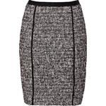 DKNY Black/White Bouclé Skirt