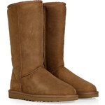 UGG Australia Leather Classic Tall Boots in Chestnut