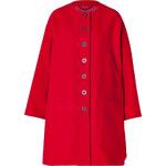 Kenzo Wool Blend A-Line Swing Coat