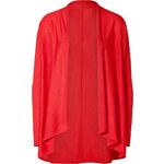Ralph Lauren Black Label Coral Cashmere-Silk Open Cardigan