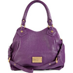 Marc by Marc Jacobs Leather Classic Q Fran Tote in Pansy Purple