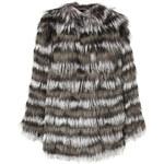 Etro Silver Fox Fur Coat